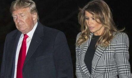 trump and Wife
