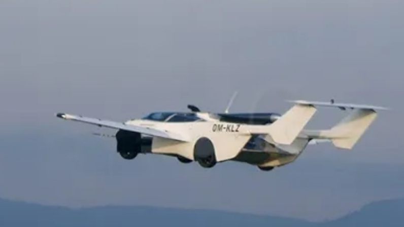 A flying car just made it's first flight rounds in Slovakia