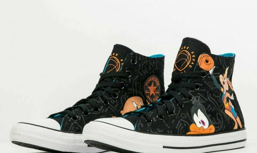 Converse Chuck Taylor All Star x Space Jam 172485C Black Spacejam Shoes Sneakers