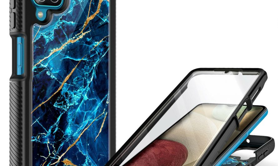 For Samsung Galaxy A42 5G Case, Full Body Phone Cover +Built-In Screen Protector